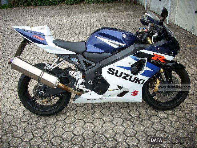 2004 Suzuki  GSX R 750 Motorcycle Sports/Super Sports Bike photo