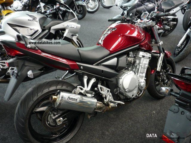 2008 Suzuki Bandit 1250, a variety of extras ...