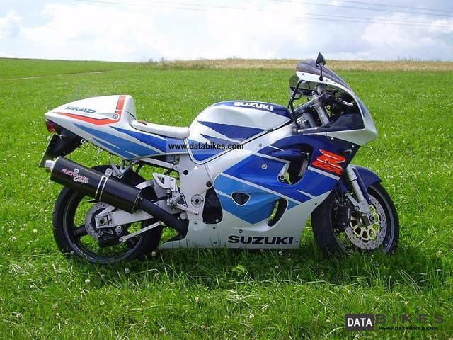 1996 Suzuki  GSX-R 750 SRAD Motorcycle Sports/Super Sports Bike photo