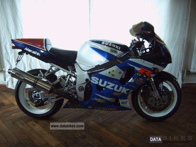 2000 Suzuki  GSX-R 750 Motorcycle Motorcycle photo