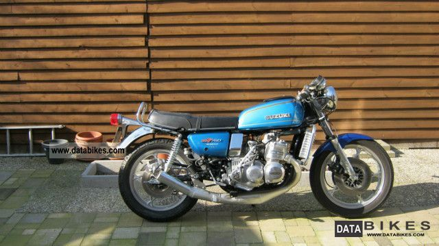 Suzuki  Special GT 750 water buffalo top condition!!! 1976 Vintage, Classic and Old Bikes photo