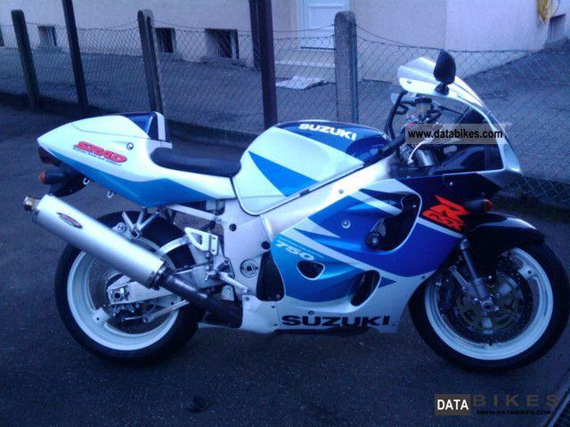 1998 Suzuki  Gsx r-750 Motorcycle Sports/Super Sports Bike photo