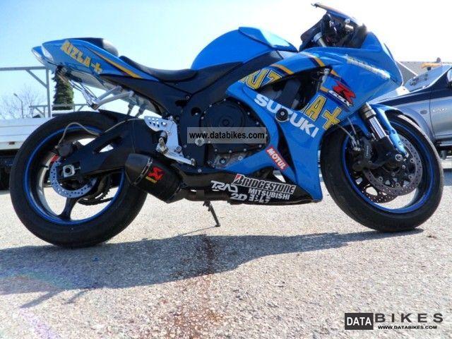 2008 Suzuki  Rizla GSX R 600 model Motorcycle Racing photo