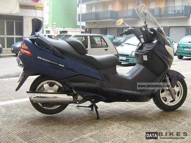 2002 Suzuki Burgman 400 Busines