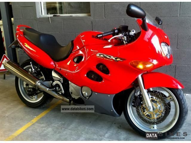 1998 Suzuki  GSX 600 Motorcycle Sport Touring Motorcycles photo