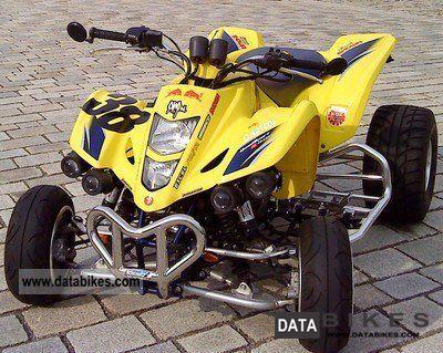 2008 Suzuki  ltz400 new MOT Motorcycle Quad photo