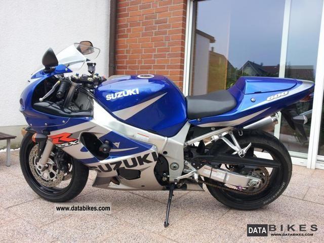 2002 Suzuki  gsx r-600 Motorcycle Sports/Super Sports Bike photo