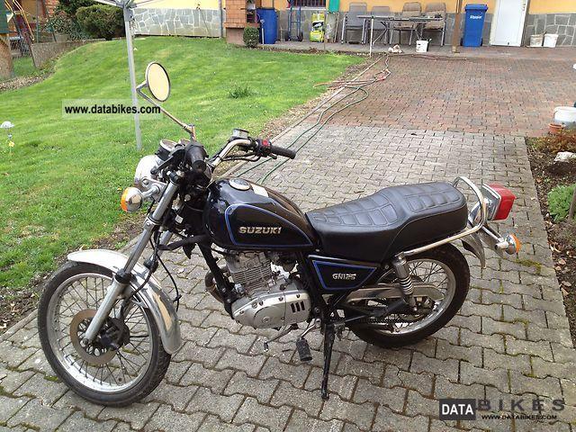 1996 Suzuki  GN 125 Motorcycle Motorcycle photo