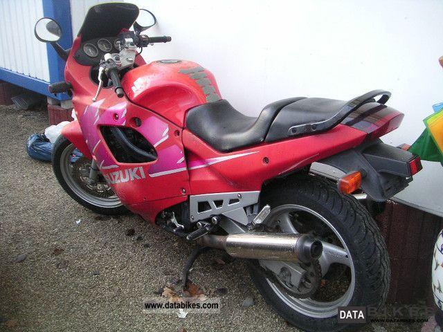 1994 Suzuki  GSX 600 Motorcycle Motorcycle photo