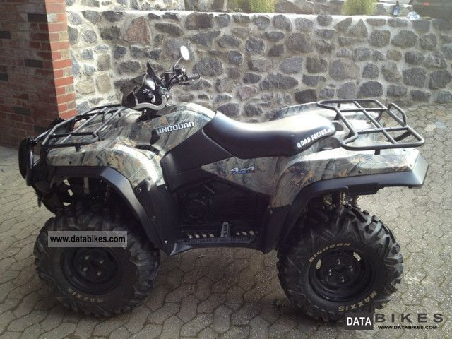 2010 Suzuki  KingQuad Motorcycle Quad photo