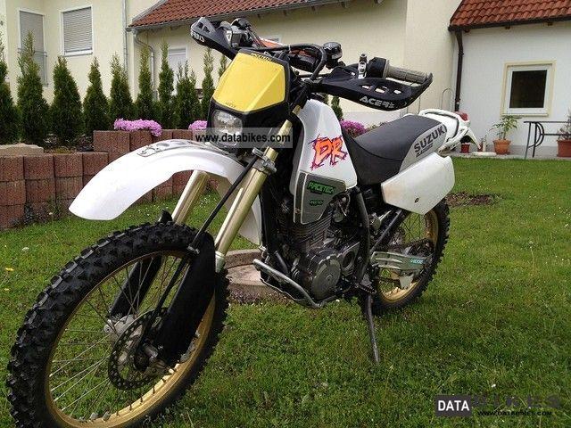 1994 Suzuki  DR 350 Motorcycle Enduro/Touring Enduro photo