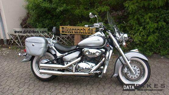 2002 Suzuki  VL 800 TOLL VOLLAUSSTATTG + + + WW tires 1.Hand Motorcycle Chopper/Cruiser photo
