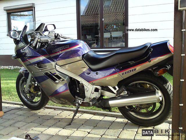 1993 Suzuki  GSX 1100 F (72 C GV) Motorcycle Sport Touring Motorcycles photo