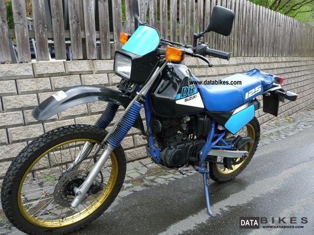 1992 Suzuki  DR 125 Motorcycle Enduro/Touring Enduro photo