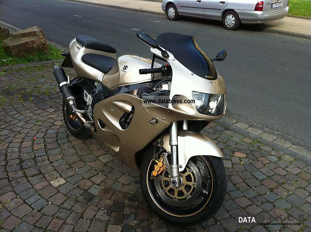 1999 Suzuki  GSX-R 750 Motorcycle Sports/Super Sports Bike photo