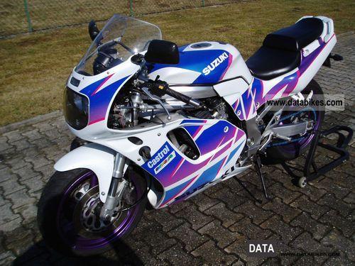1992 Suzuki  GSXR 750 Motorcycle Motorcycle photo