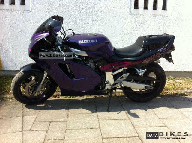 1993 Suzuki  GSX-R 750 Motorcycle Sports/Super Sports Bike photo