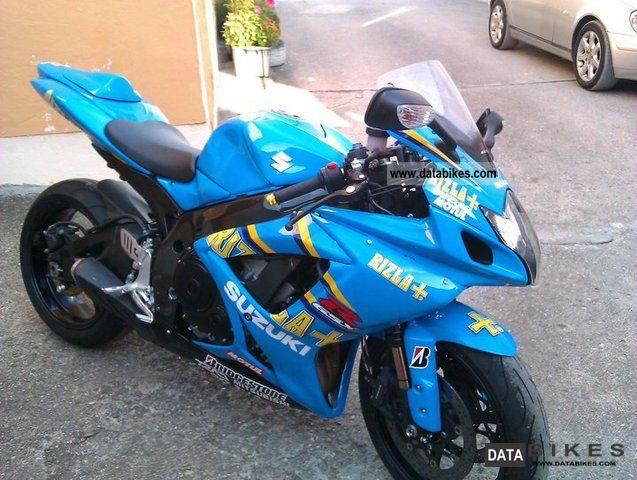 2006 Suzuki  GSX-R 750 Motorcycle Sports/Super Sports Bike photo