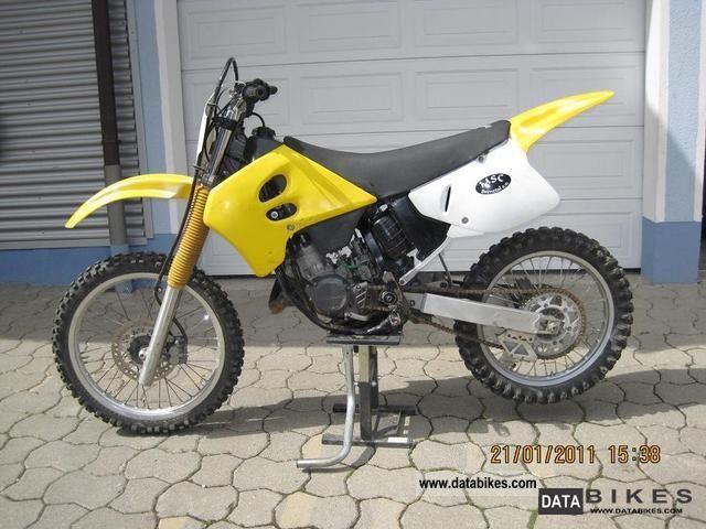 1993 Suzuki  RM 125 cc Motorcycle Rally/Cross photo