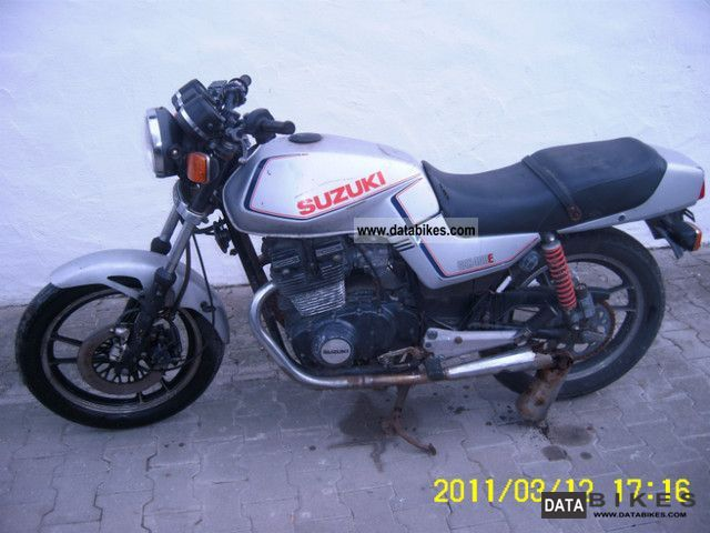 1983 Suzuki  GSX 400 E Motorcycle Motorcycle photo
