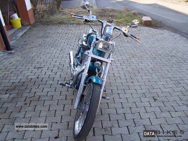 1995 Suzuki  intruder 600 glu Motorcycle Chopper/Cruiser photo