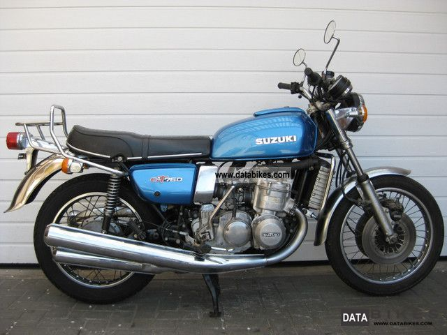 Suzuki  GT 750 water buffalo 1976 Vintage, Classic and Old Bikes photo