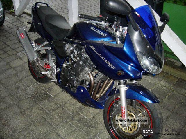 2001 Suzuki  GSF 1200 S Motorcycle Sport Touring Motorcycles photo