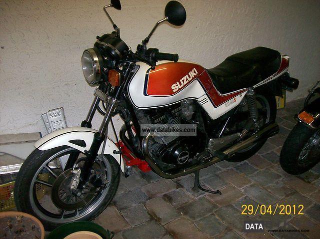 1983 Suzuki  GSX400S Motorcycle Motorcycle photo