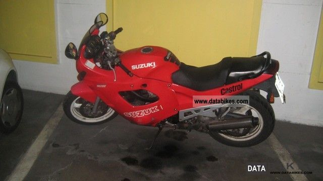 1991 Suzuki  GSX 600 Motorcycle Motorcycle photo