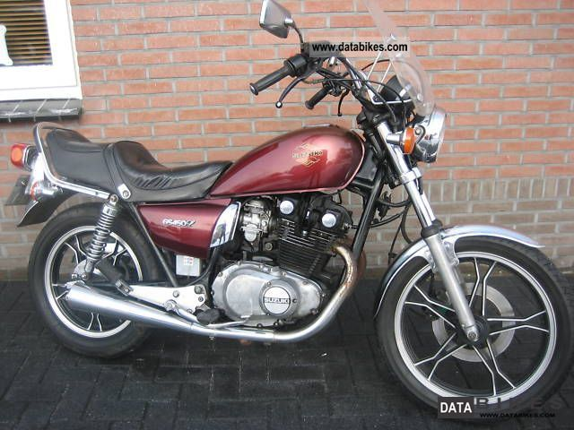 1989 Suzuki  GS 450 L CHOPPER Motorcycle Chopper/Cruiser photo