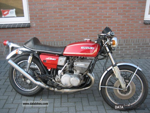 Suzuki  GT 550 DREIZYLIND ER TWO-STROKE 1975 Vintage, Classic and Old Bikes photo