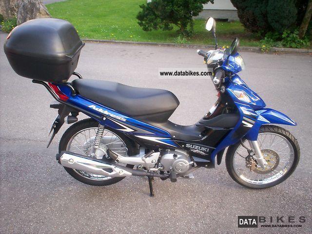 2010 Suzuki  Address Motorcycle Lightweight Motorcycle/Motorbike photo