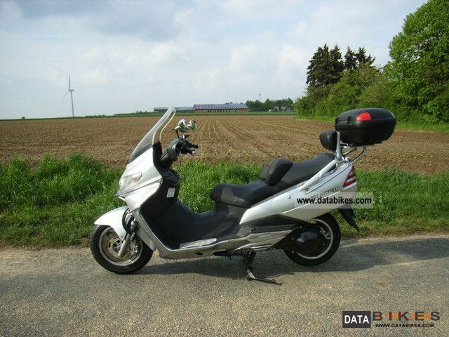 2002 Suzuki  Burgmann 400 Motorcycle Scooter photo