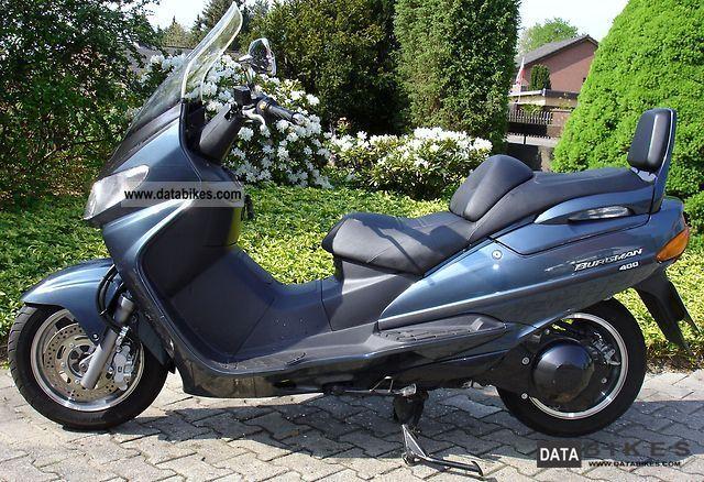 1999 Suzuki  AN 400 Motorcycle Scooter photo