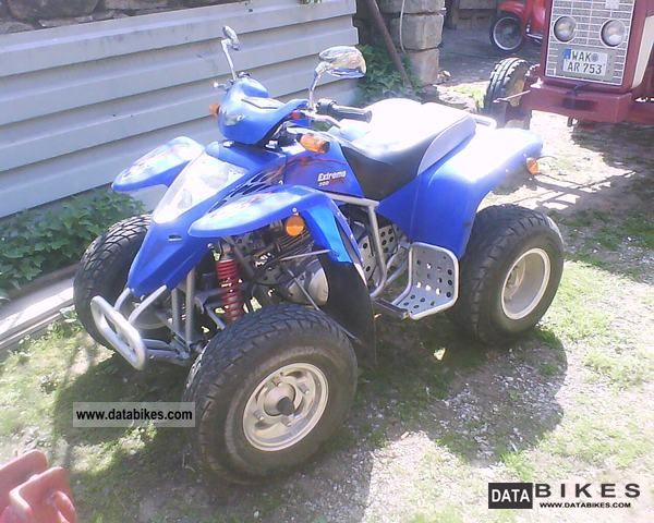 2005 Suzuki  also exchange with motorcycle extreme Motorcycle Quad photo