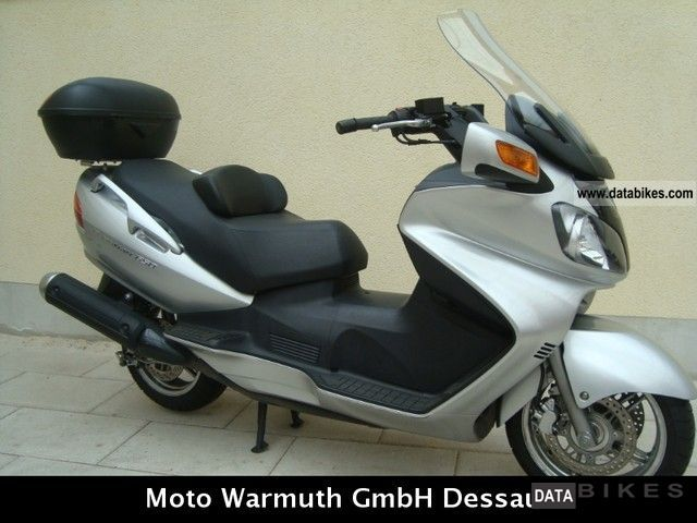 Suzuki  AN 650 Burgman with navigation 2005 Scooter photo