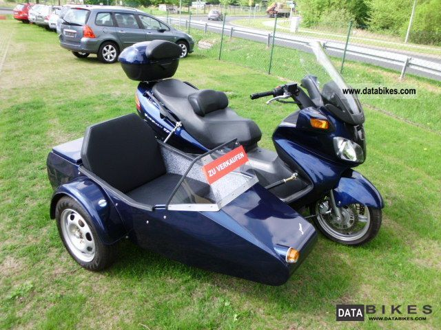 2008 Suzuki  Team Burgmann 650 / like new facet Motorcycle Combination/Sidecar photo