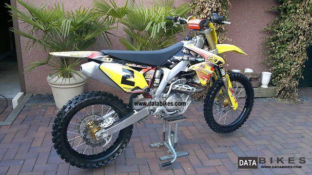 2010 Suzuki  rmz 450 Motorcycle Rally/Cross photo