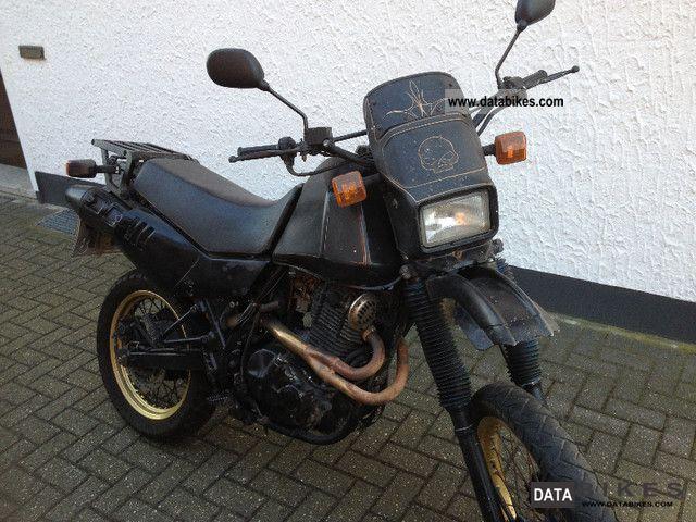 1989 Suzuki  DR 600 SN41A Motorcycle Enduro/Touring Enduro photo