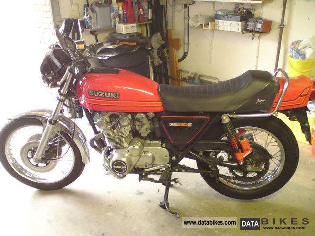 1980 Suzuki  GS 550 D Motorcycle Tourer photo