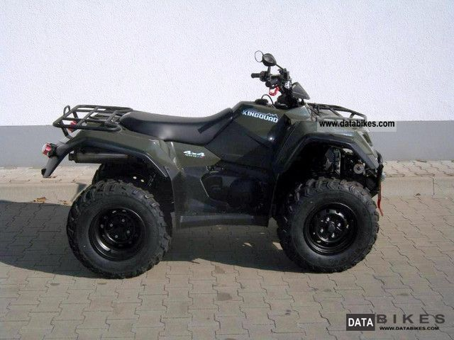 2011 Suzuki  AD 400 4x4-i L2 including LOF from dealers Motorcycle Quad photo