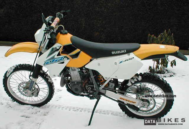 2001 Suzuki  DR Z 400 Motorcycle Enduro/Touring Enduro photo
