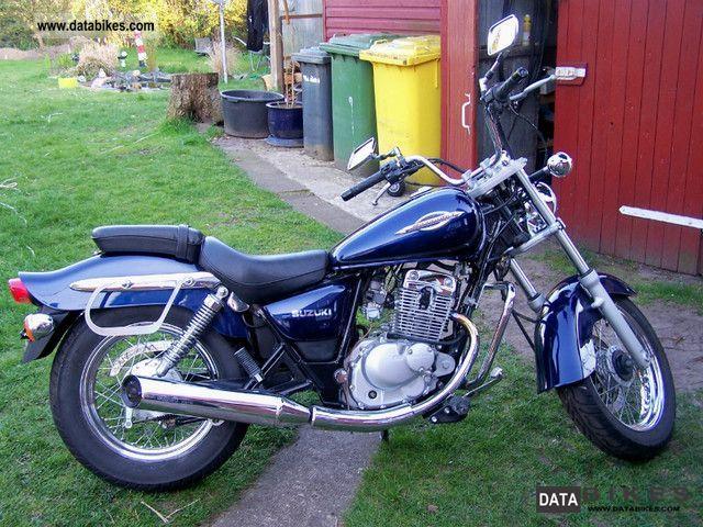 2004 Suzuki  GZ 125 Marauder Motorcycle Chopper/Cruiser photo