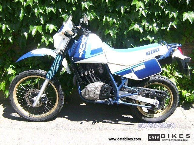 1987 Suzuki  DR 600 Dakar Motorcycle Enduro/Touring Enduro photo