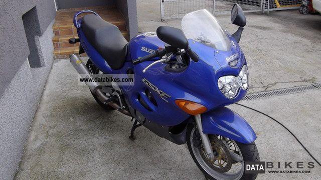 1999 Suzuki  GSX-F 600 Motorcycle Motorcycle photo