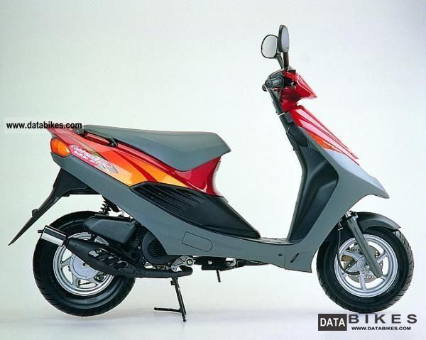 1996 Suzuki  AP 50 Motorcycle Scooter photo