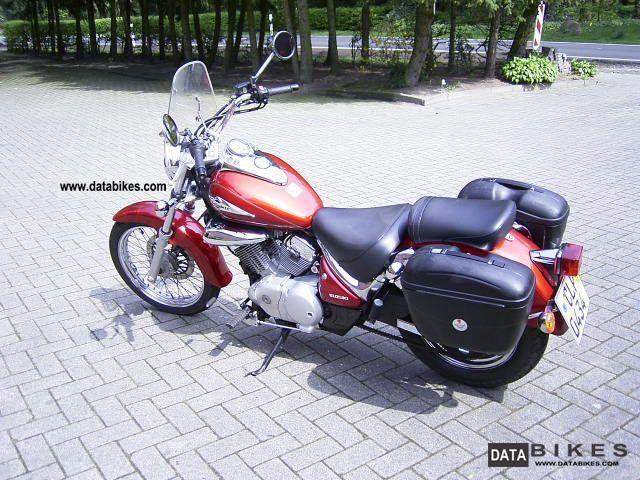 2001 suzuki intruder motorcycle chopper cruiser photo 4