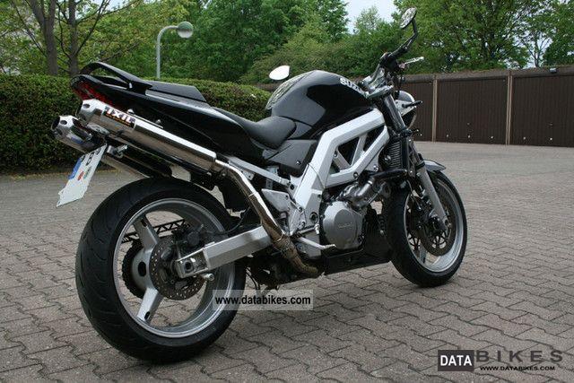 2005 Suzuki  SV 1000 Motorcycle Naked Bike photo