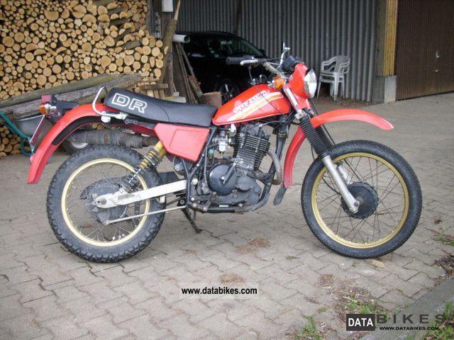 1981 Suzuki  DR 500 S Motorcycle Enduro/Touring Enduro photo