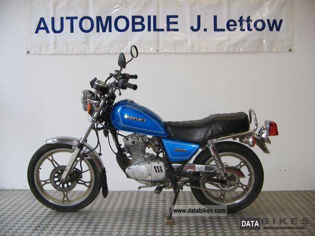 1991 Suzuki  GN 125 NF41A Motorcycle Chopper/Cruiser photo
